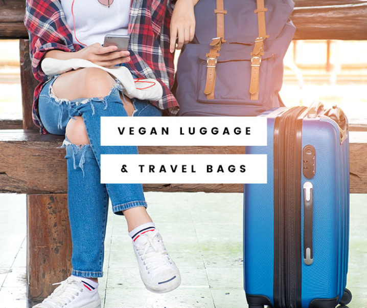 Get on Board with These Vegan Luggage and Travel Bags