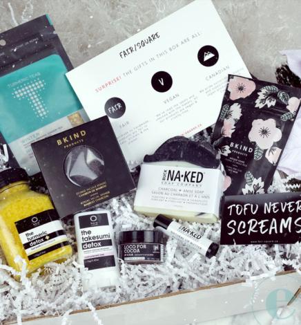 FAIR/SQUARE Vegan Gift Boxes – Detox & Renew