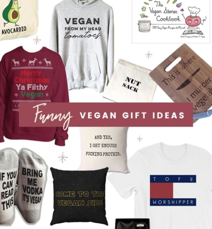 13+ Hilariously Clever & Funny Vegan Gift Ideas