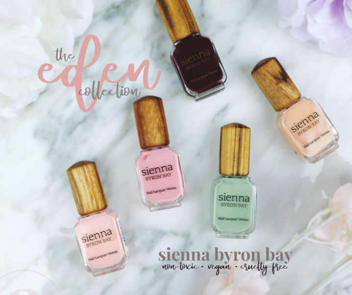 The Eden Collection – Sienna Byron Bay Vegan Nail Polish