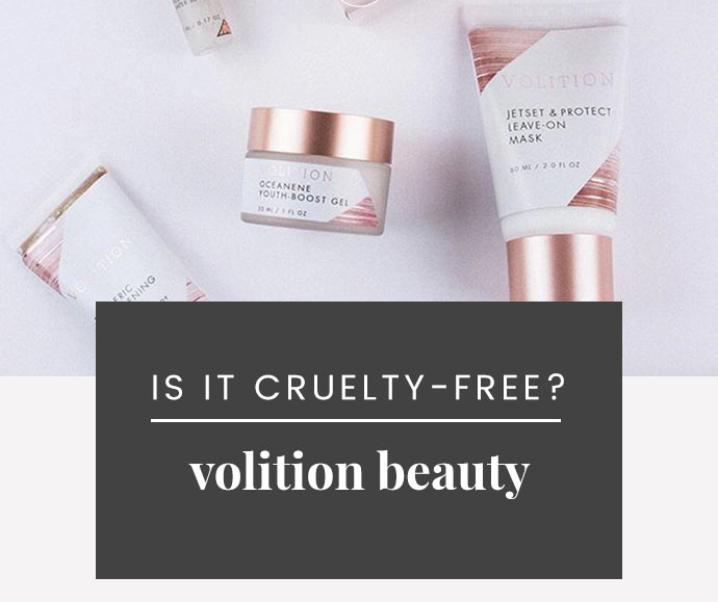 Volition Vegan & Cruelty-Free Status