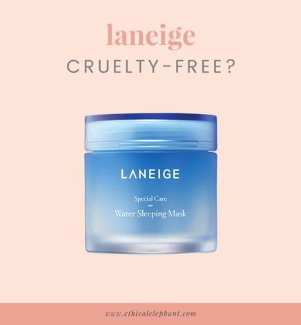 Laneige Cruelty-Free & Animal Testing Statement