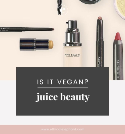 Juice Beauty Vegan & Cruelty-Free Status