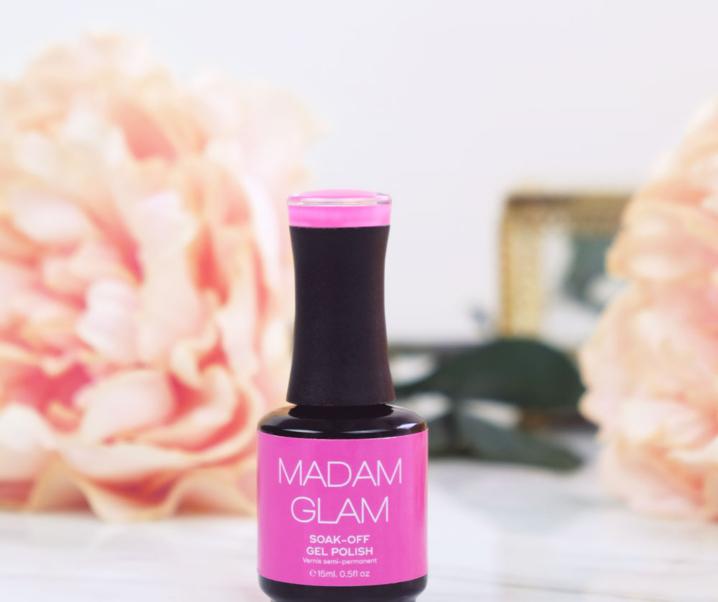 Madam Glam (Floris) Vegan Gel Nail Polish Review