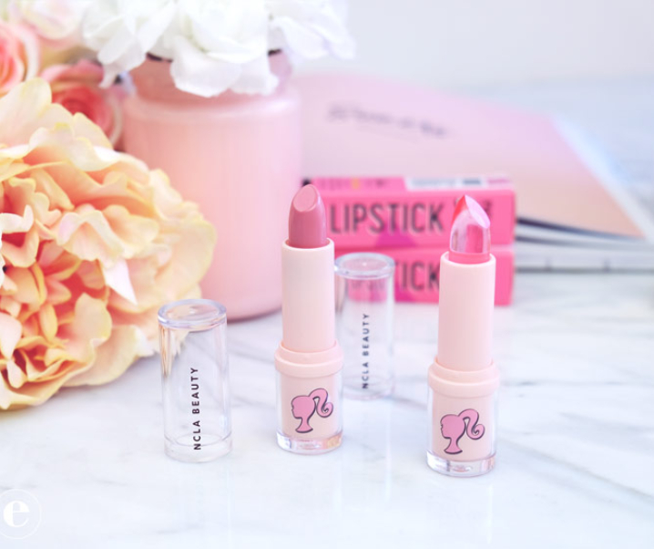 NCLA x Barbie Lipstick Review (Cruelty-Free & 100% Vegan)