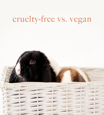 Cruelty-free vs. Vegan – What's the Difference?