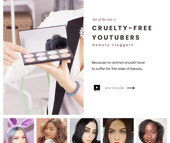 Top 27 Cruelty-Free Youtube Beauty Vloggers You Should Already Be Following