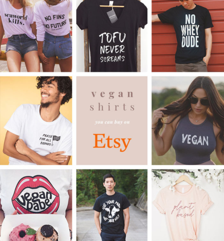 The Best Etsy Vegan Shirts and Clothing Shops