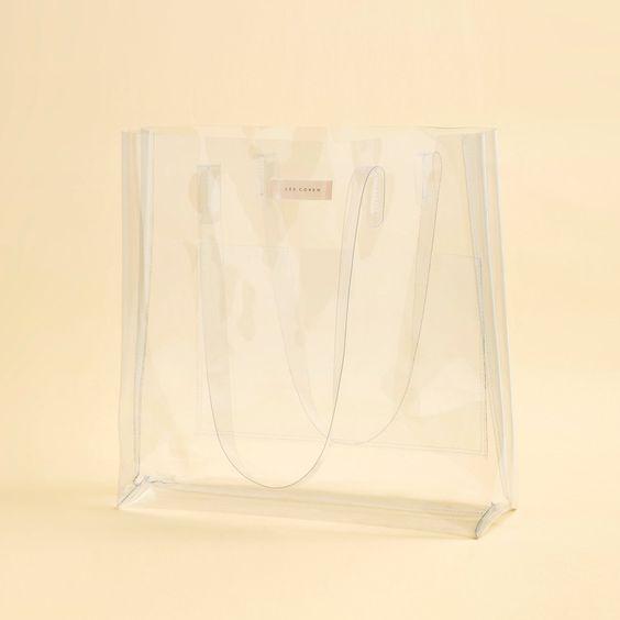 Clear Tote Bag - Lee Coren