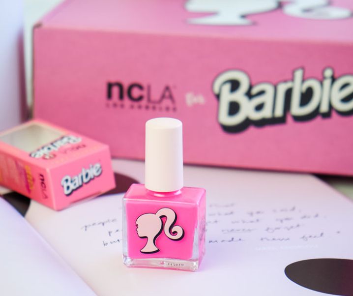 NCLA x Barbie Nail Polish Review – Barbie Pink