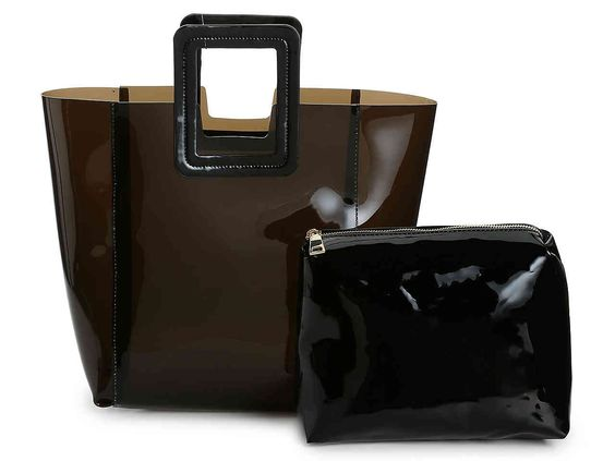 Black Clear Tote - Urban Expressions