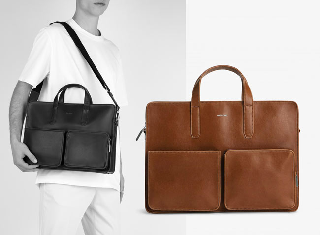 Matt & Nat SOREN Vegan Leather Briefcase