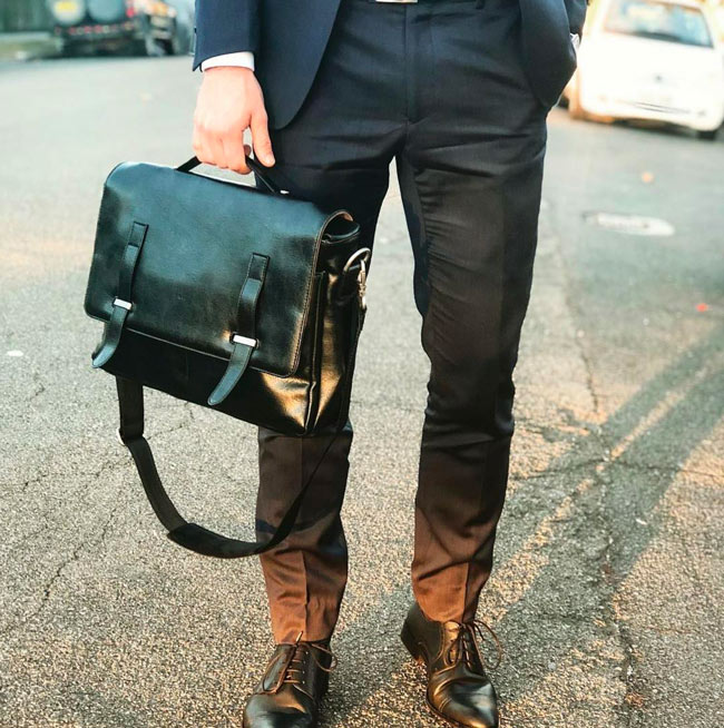 Will's Vegan Leather Briefcase