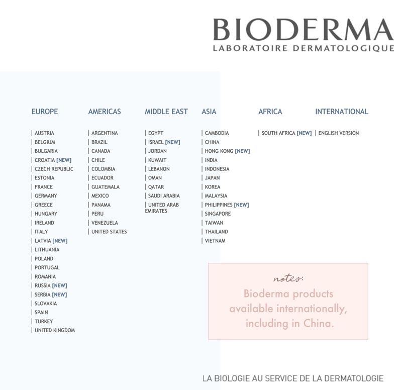 Bioderma Sold in China - Not Cruelty-Free