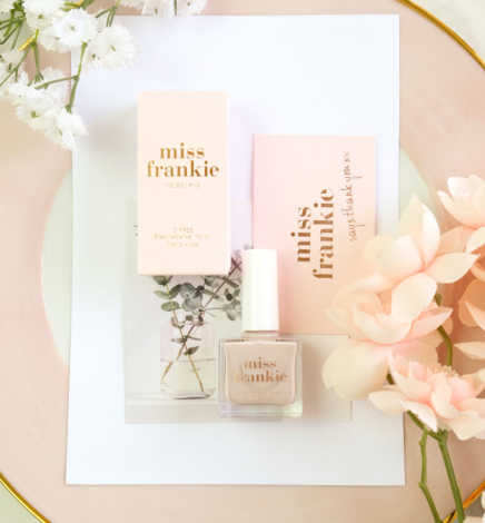 Miss Frankie – I Prefer Champagne Nail Polish Review (Cruelty-Free & Vegan)