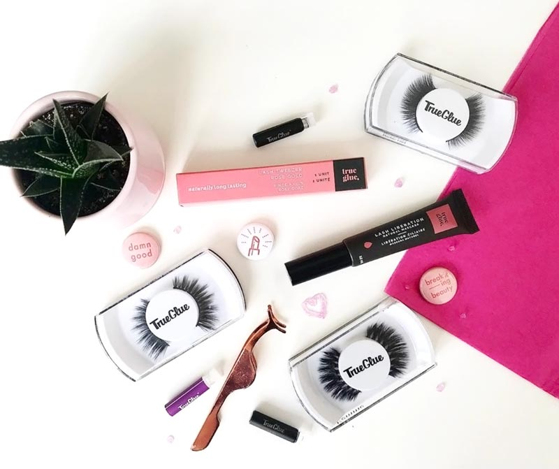 True Glue Natural False Lashes