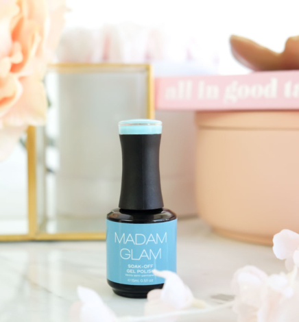 Thoughtful Blue – Madam Glam Soak-Off Gel Polish (Vegan!)
