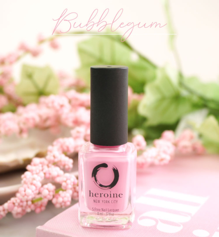 Bubblegum – heroine.nyc Nail Polish Review