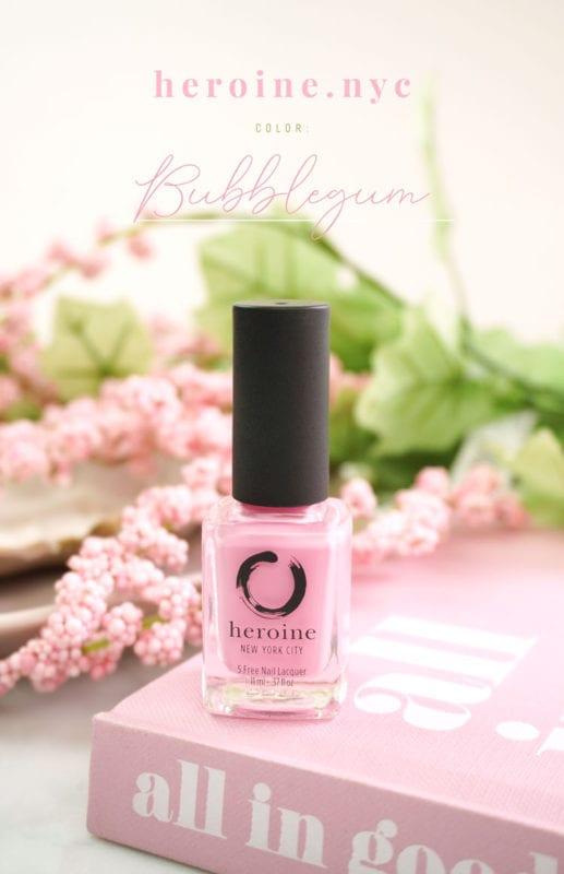 Bubblegum – heroine.nyc Nail Polish Review
