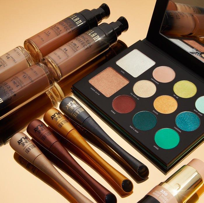 Milani Cosmetics - Drugstore Cruelty-Free Makeup