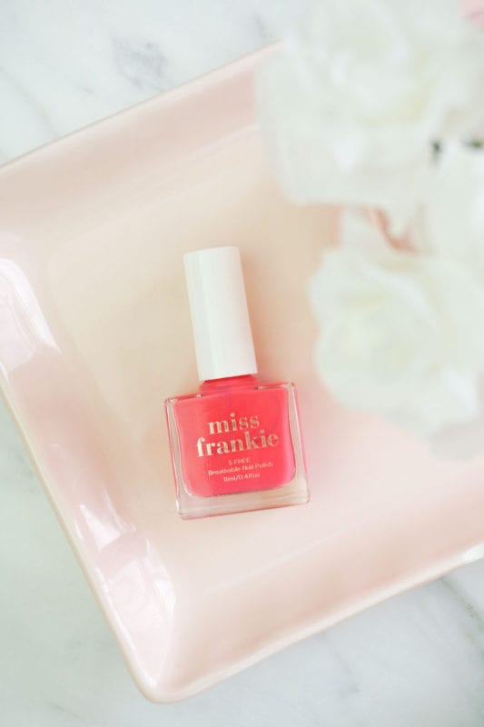 Miss Frankie Nail Polish – Did You Say Prosecco?