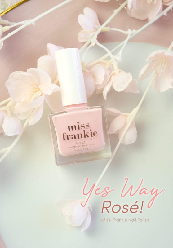 Yes Way, Rosé – Miss Frankie Nail Polish Review