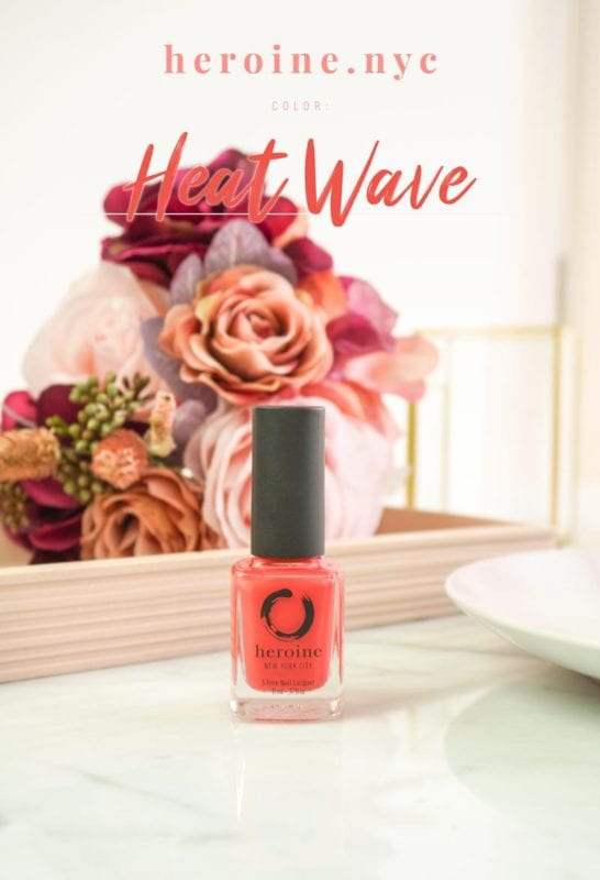 Heat Wave – heroine.nyc Nail Polish Review