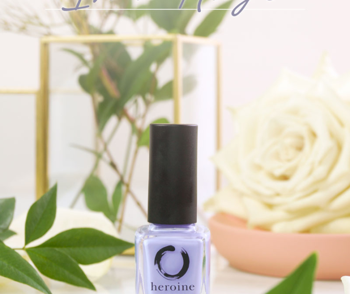 Heroine.nyc – In a Haze Nail Polish Review