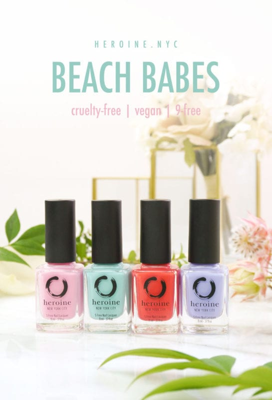 Heroine NYC Beach Babes Nail Polish Collection Review