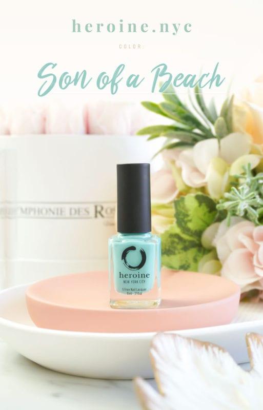 Heroine NYC – Son of a Beach Nail Polish Review