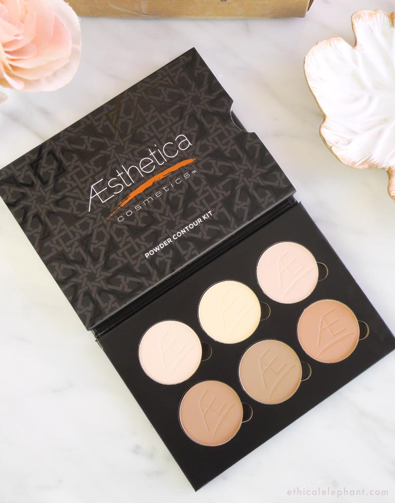 Aesthetica Powder Contour Kit - VeganCuts Makeup Box