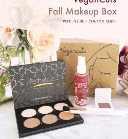 Review: VeganCuts Makeup Box – Fall 2019 (+ VeganCuts Coupon Code)