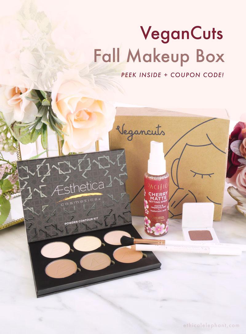 VeganCuts Makeup Box - Fall 2019