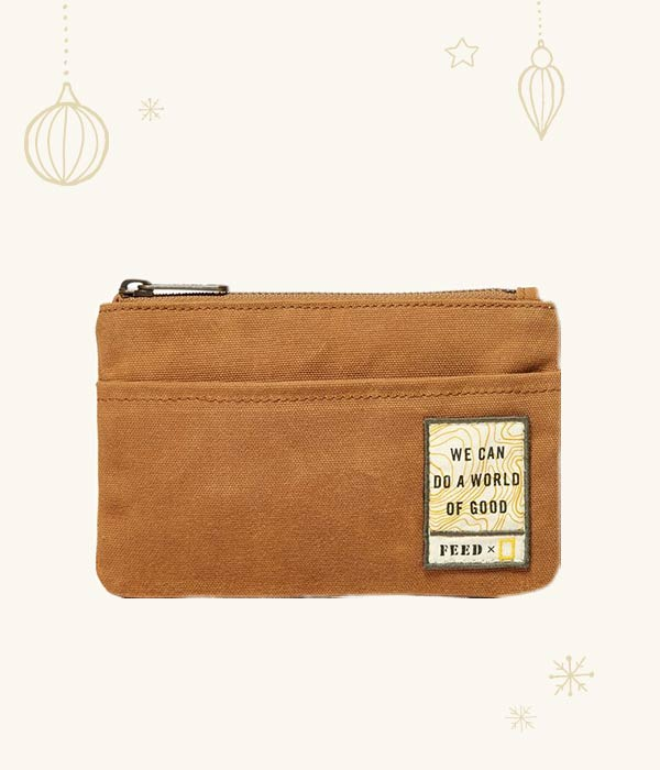 FEED x National Geographic - Zip Pouch