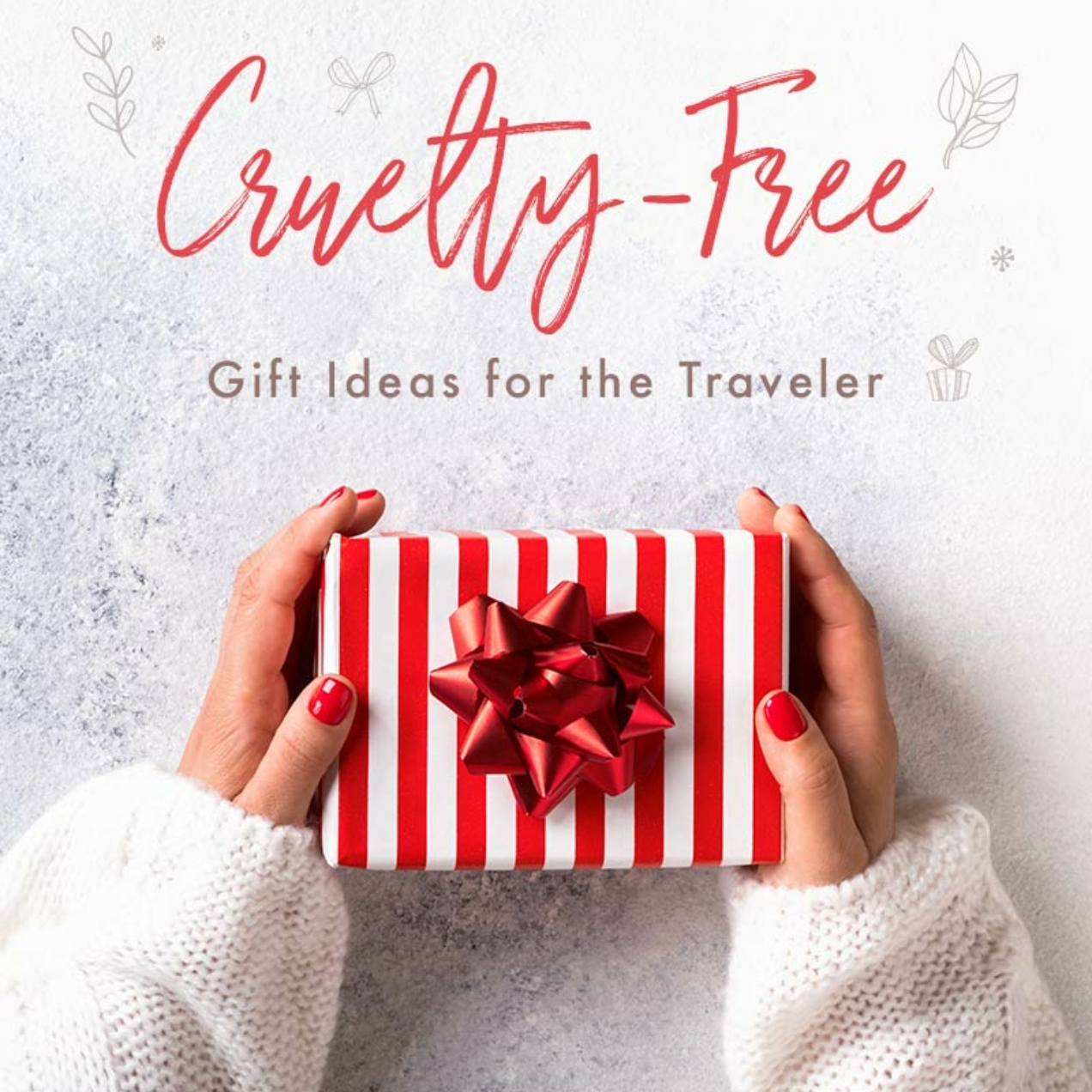Cruelty-Free Gift Ideas for the Traveler