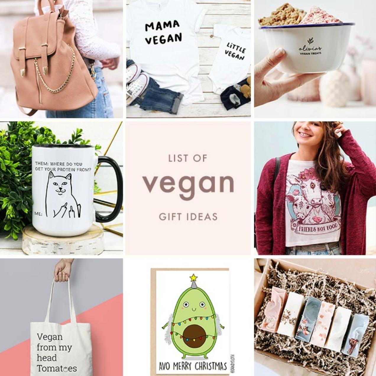 Vegan Etsy Gift Ideas – From or For Vegans