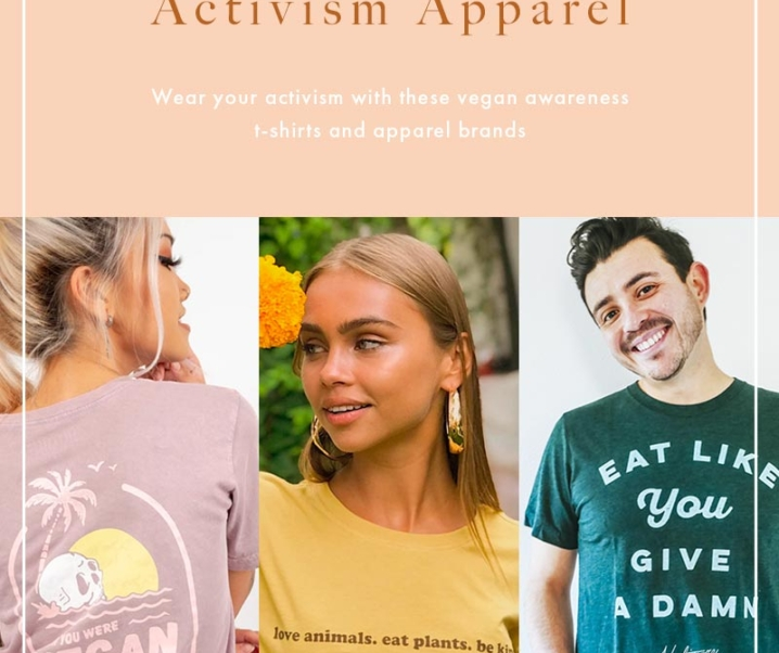 18 Seriously Kickass Vegan T-Shirt Apparel Brands You Need To Be Wearing in 2020