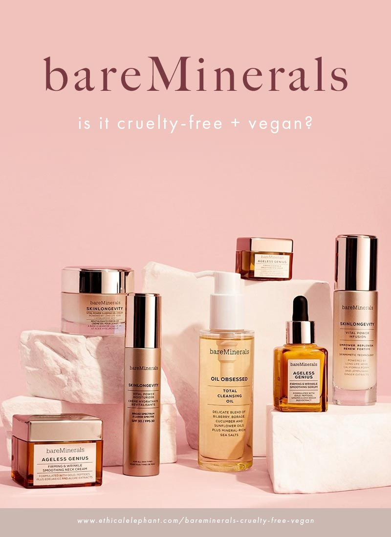 Is bareMinerals cruelty-free and vegan?