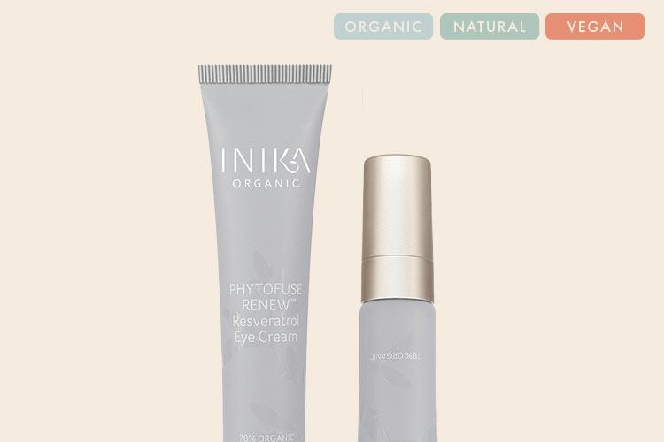 INIKA Organic Cruelty-Free & Vegan Eye Cream