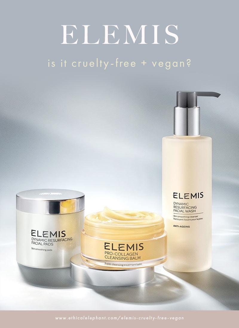 Is ELEMIS cruelty-free and vegan?