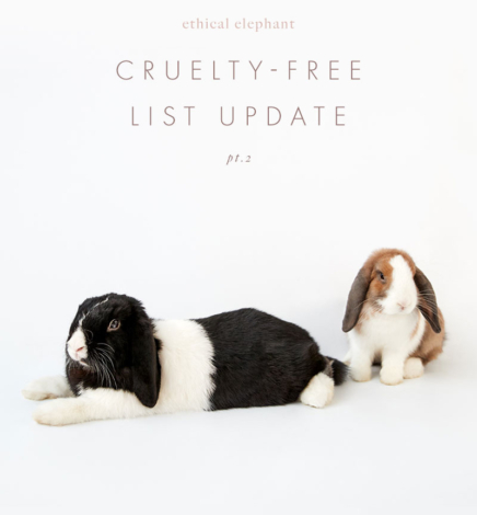Cruelty-Free Brand List – Update Pt. 2