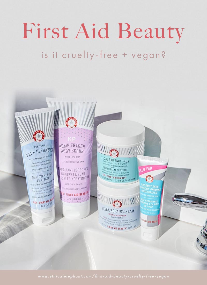 Is First Aid Beauty Cruelty-Free and Vegan?