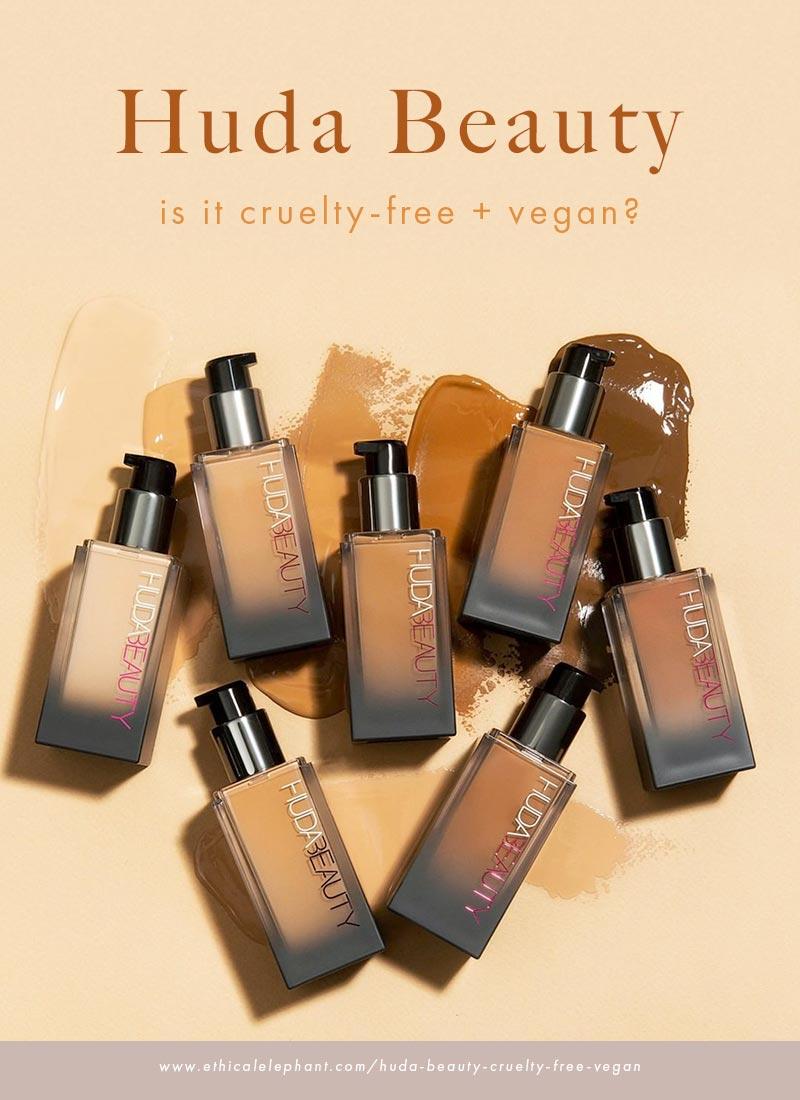 Is Huda Beauty Cruelty-Free and Vegan?