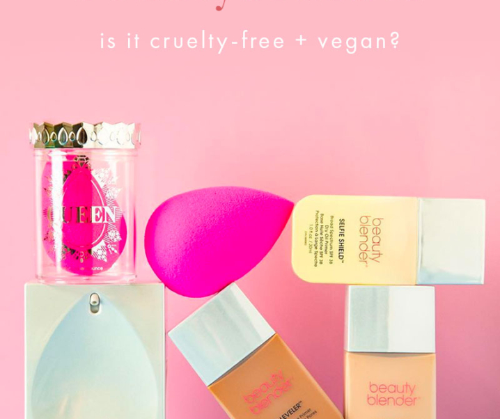 Is beautyblender Cruelty-Free? | beautyblender Vegan Product List (2020)