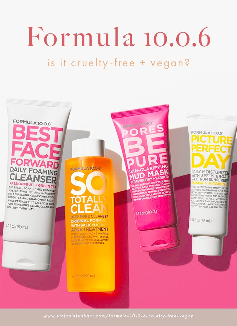 Is Formula 10.0.6 cruelty-free and vegan?