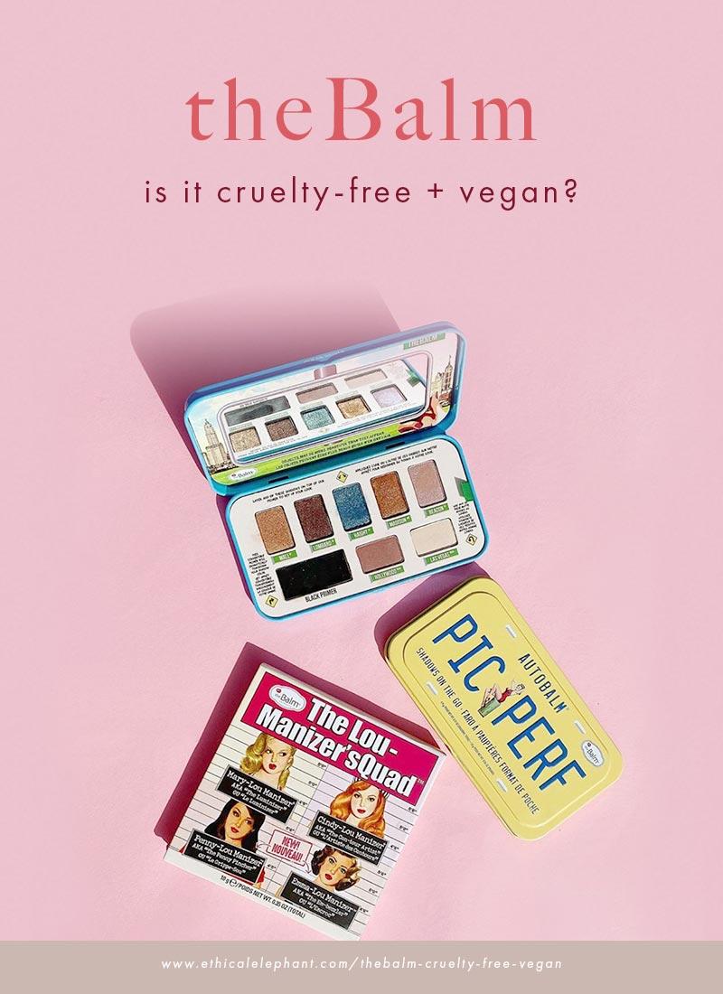 Is theBalm cruelty-free and vegan?