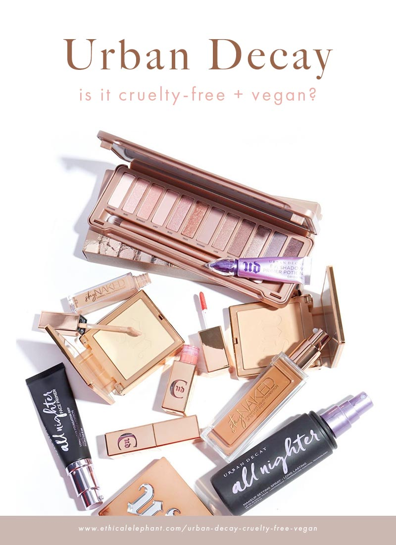 Is Urban Decay Cruelty-Free and Vegan?
