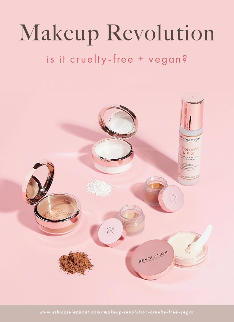 Is Makeup Revolution Cruelty-Free and Vegan?