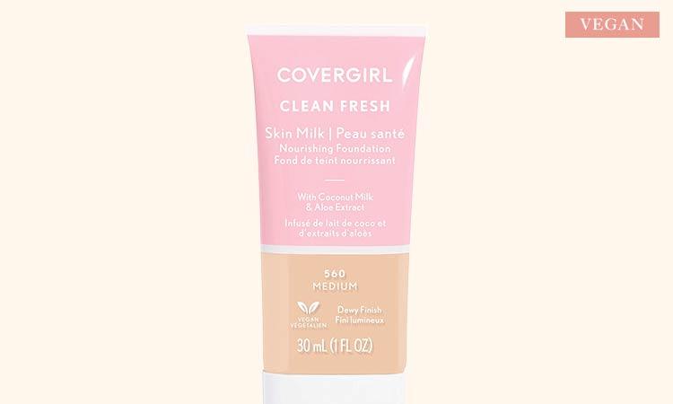 CoverGirl Clean Fresh Skin Milk Foundation is Cruelty-Free & 100% Vegan