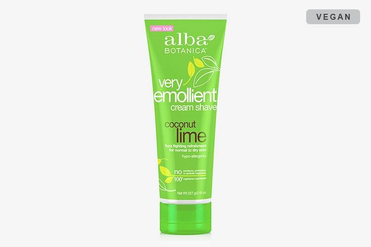 Alba Botanica Very Emollient Shave Creams